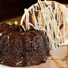 Chocolate molten lava cake, need we say more.......