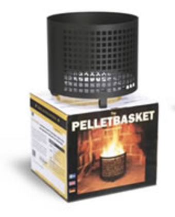 Pellet Basket 6 Ltr Round In Ct Blakeslee Wood Pellets