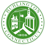 Town seal of Burlington, CT