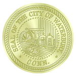 Waterbury, CT seal.