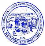 Town seal of Wethersfield, CT