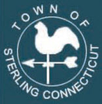 Sterling, CT seal.