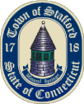 Town seal of Stafford, CT