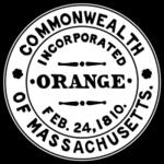 Orange, MA seal.