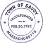 Savoy, MA seal.