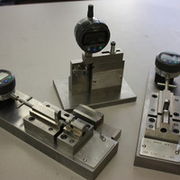 High precision inspection fixtures.