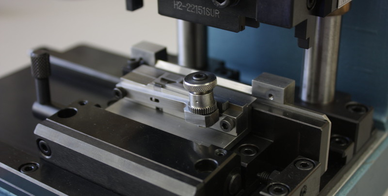 Aerospace Tooling Assembly fixture using high-precision Wire EDM machined components.