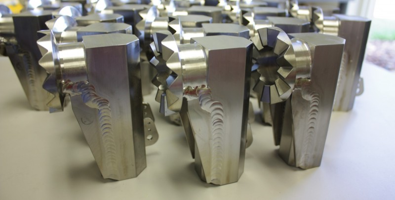 Titanium Precision Welding components- Welded in a vacuum chamber..