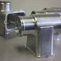 Aluminum duct assembly Welded by NADCAP approved welders..