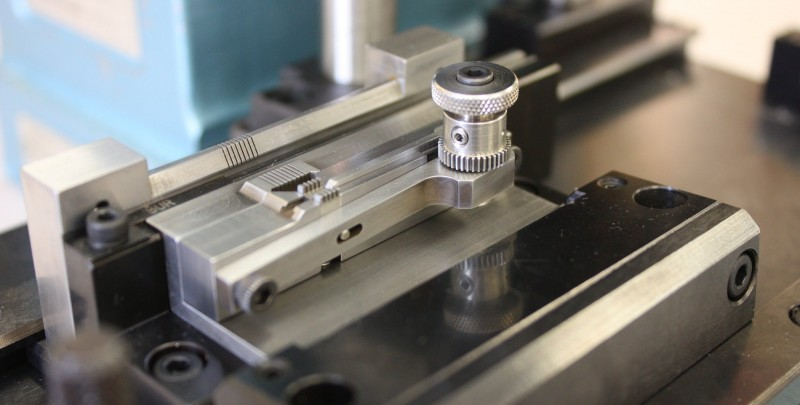 Fixtures and Tooling Assembly fixture using high-precision Wire EDM machined components.
