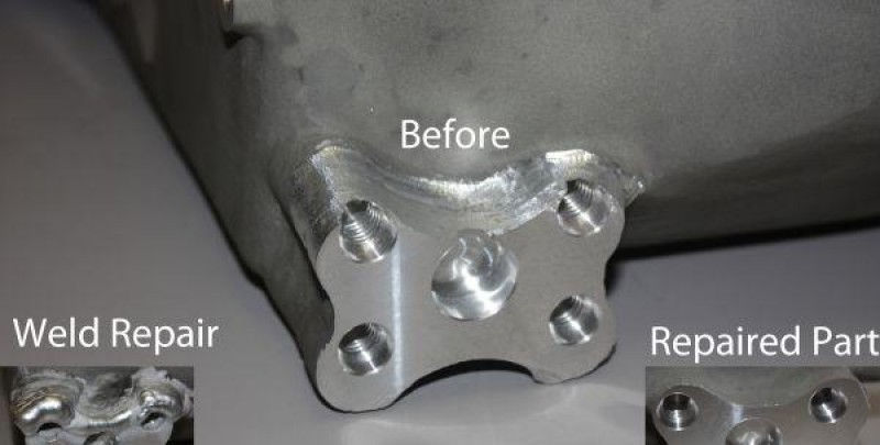 Casting Repair for Aerospace Component