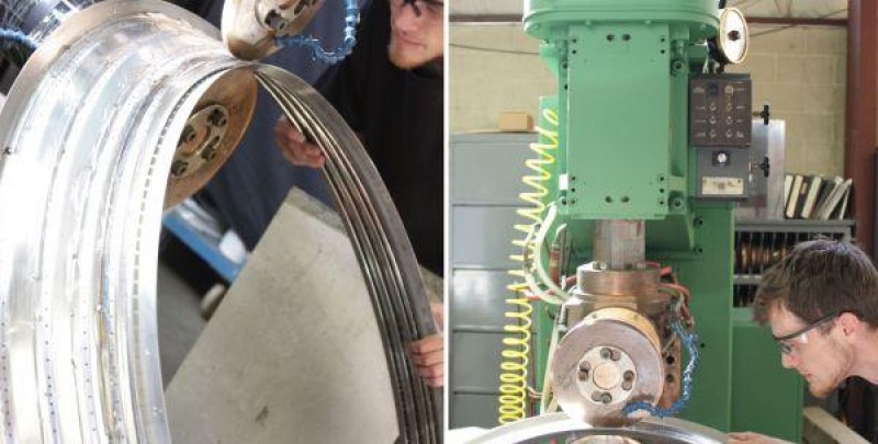 Nadcap Accredited for Seam Welding Jet Engine Components