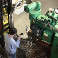 Seam Welding Large Inconel Engine Component