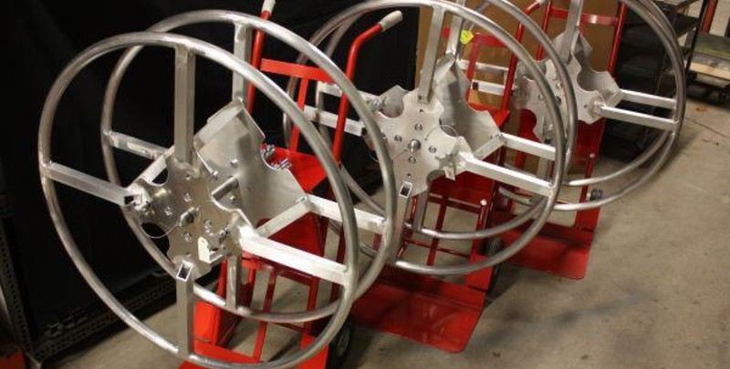 Custom Rope Reeler Fabricated by Lynn Welding