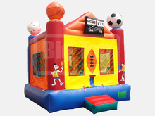 Sports Bounce House Hopper, Roo's Hoppers - Jacksonville, Florida Bounce House Rentals
