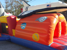 USA Toddler Obstacle Bounce House Hopper, Obstacle Courses & Interactive Games - Jacksonville Florida Bounce House Rentals