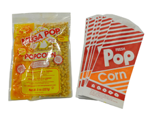 Popcorn Mix & Popcorn Bags, Roo's Concession & Frozen Drink Machines