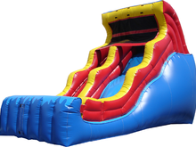Cool Plunge 19' Slide (Wet or Dry), Roo's Wet or Dry Slides - Jacksonville Florida Bounce House Rentals