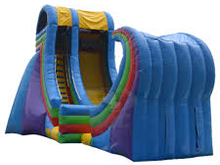 Rampage 22' Bounce House Water Slide WET or DRY, Roo's Wet or Dry Slides - Jacksonville Florida Bounce House Rentals