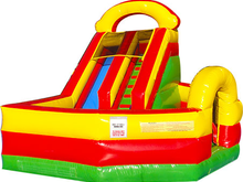 Play Ground  Slide  Combo 14' Bounce House Waterslide WET or DRY, Roo's Wet or Dry Slides - Jacksonville Florida Bounce House Rentals