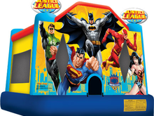 Justice League Theme Bounce House Hopper, Roo's Hoppers - Jacksonville, Florida Bounce House Rentals