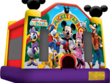 Disney Mickey Park Bounce House Hopper, Roo's Hoppers - Jacksonville, Florida Bounce House Rentals