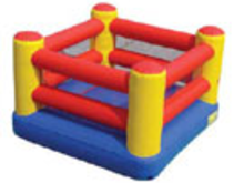 Boxing Ring Bounce House Hopper, Roo's Hoppers - Jacksonville, Florida Bounce House Rentals