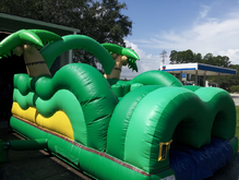 Tropical Island Toddler Obstacle Bounce House Hopper, Obstacle Courses & Interactive Games - Jacksonville Florida Bounce House Rentals