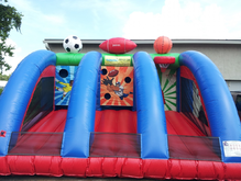 3-1 Sports Game, Obstacle Courses & Interactive Games - Jacksonville Florida Bounce House Rentals