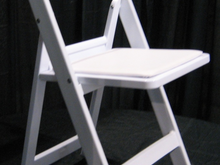 White Resin Chairs, Roo's Tents, Tables, Chairs and more