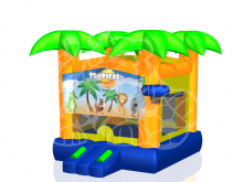 Modular Palm Tree Bounce House Hopper, Roo's Hoppers - Jacksonville, Florida Bounce House Rentals