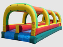 Rush Slip n Slide  30' Bounce House Waterslide WET or DRY, Roo's Wet or Dry Slides - Jacksonville Florida Bounce House Rentals