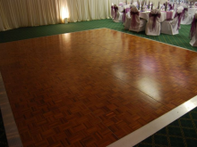 Dance Floor Rental, Roo's Tents, Tables, Chairs and more