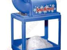 Snow Cone Machine, Roo's Concession & Frozen Drink Machines