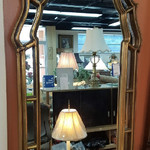 1-26550 Large Gold Mirror