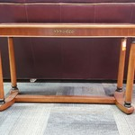 1-31493 Wood Sofa Table