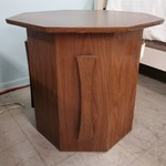 1-21092 Wood End Table