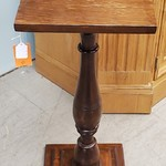 1-31993 Wood End Square Table