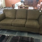 "1-32652 Smith Bros Brown Tweed Sofa (90"")"
