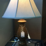 1-32694 Pineapple Lamp- Gold
