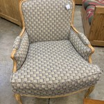1-32933 Turquoise/Purple/Gray Accent Chair