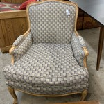 1-32934 Turquoise/Purple/Gray Accent Chair