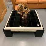 1-33187 Coffee Table-Glass Top