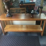 1-33587 Lane Mid-Century Console Table