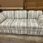 1-33409 Sofa- Baker-Blue Stripe