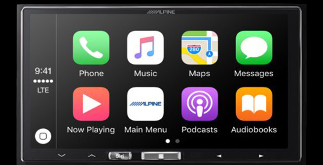 iLX-107 Apple Car Play