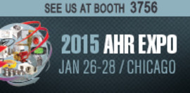 Come See Spire Metering Technology at booth # 3756 at AHR 2015 show in Chicago, IL.