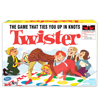 WINNING MOVES WMV #1178 CLASSIC TWISTER image.