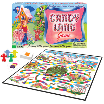 WINNING MOVES WMV #1189 CANDY LAND 65TH ANNIVERSARY EDITION image.