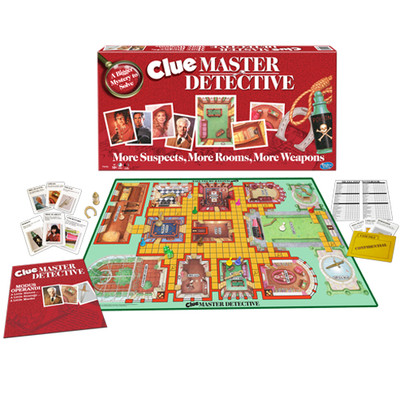 WINNING MOVES WMV #1213 CLUE MASTER DETECTIVE image.